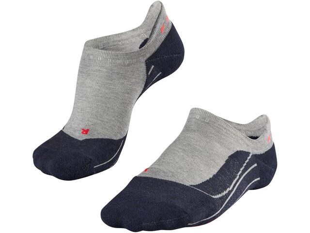 Falke W's RU4 Invisible Running Socks light grey